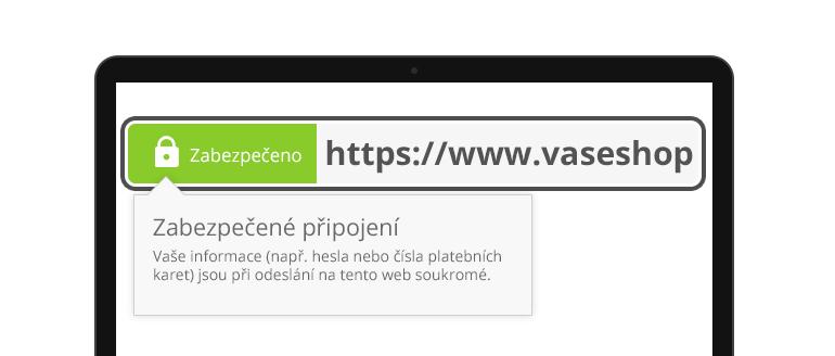 SSL zabezpečení webu
